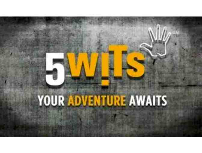 4 VIP passes to a 5 Wits adventure