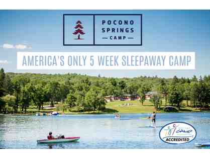 Pocono Springs Camp - Five-week session at sleepaway camp