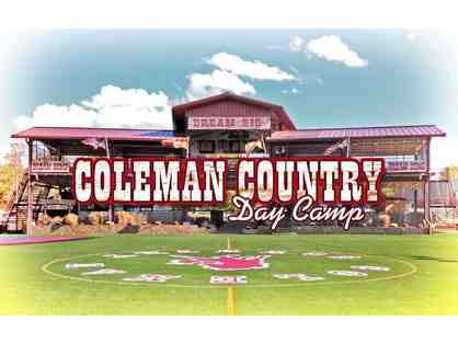 Coleman Country Day Camp - 50% off summer campership