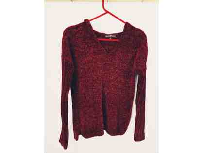 Almost Famous Burgundy Sweater, Size S