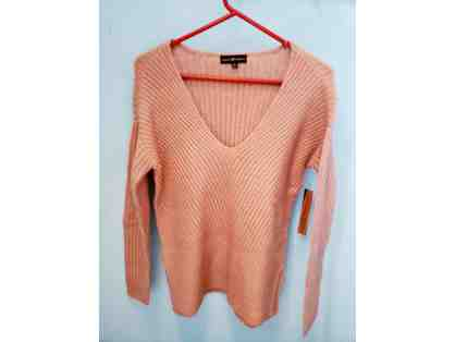 Almost Famous Pink Sweater, Size M