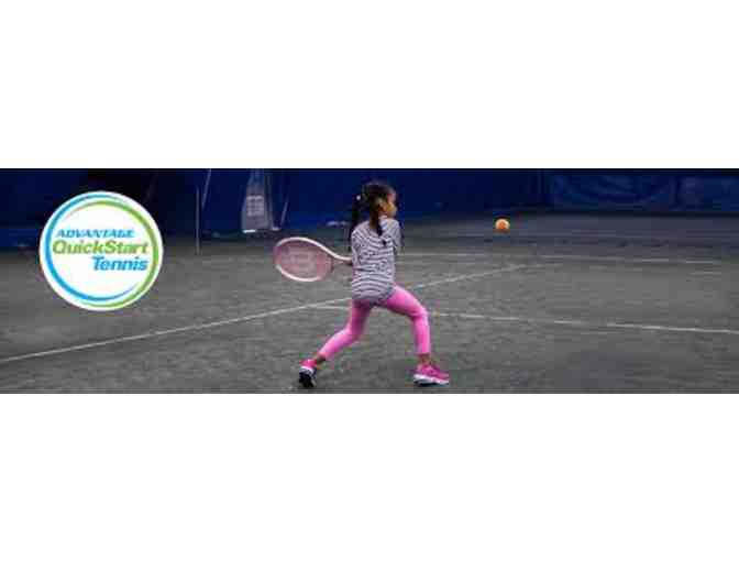 Advantage Tennis: $400 Voucher for QuickStart Tennis Classes or Camp
