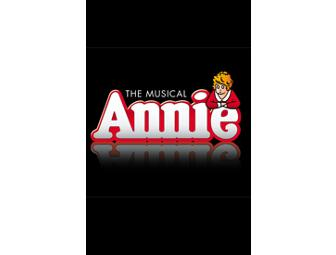 ANNIE on Broadway 4 VIP Orchestra Tickets PLUS BACKSTAGE TOUR to meet the stars! - Photo 1