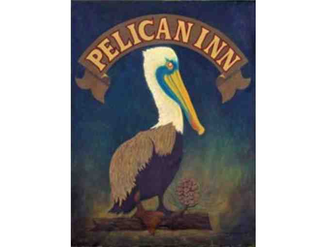 One Night at The Pelican Inn in Muir Beach for Two and PRNSA Bookstore Gifts