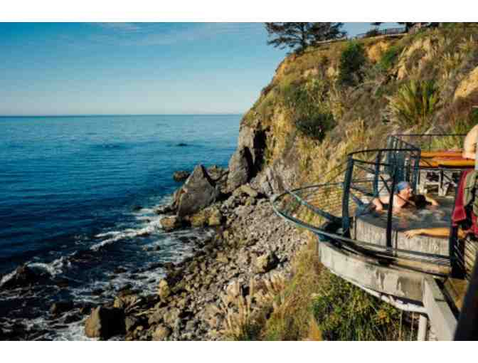 Big Sur Seaside: Hot Tubs and Lunch at Esalen Institute