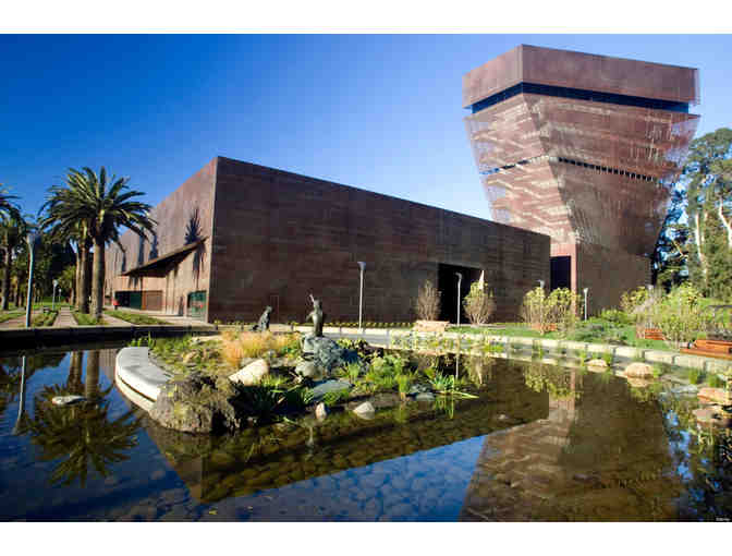 A One-Year Family/Dual Membership in Fine Arts Museums of San Francisco