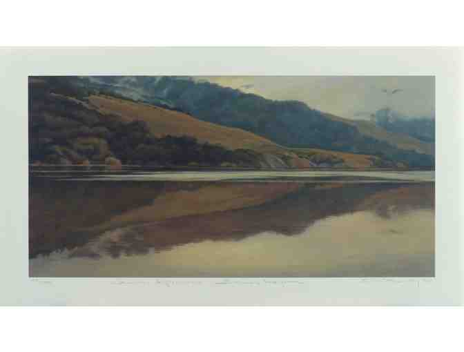 Bolinas Lagoon: Two Numbered Giclee Prints by Artist Christin Coy
