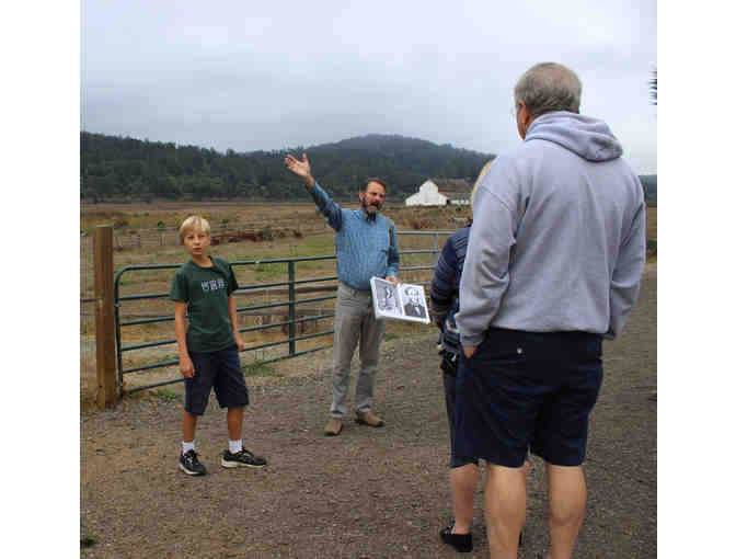 A Guided, Customized Point Reyes Station Historic Walking Tour with Dewey Livingston