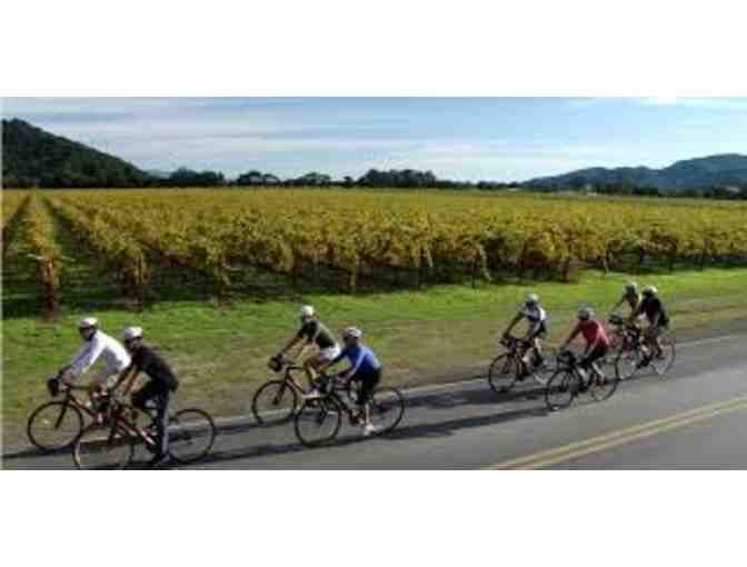 Napa Valley Sip & Cycle Wine Tour for 2
