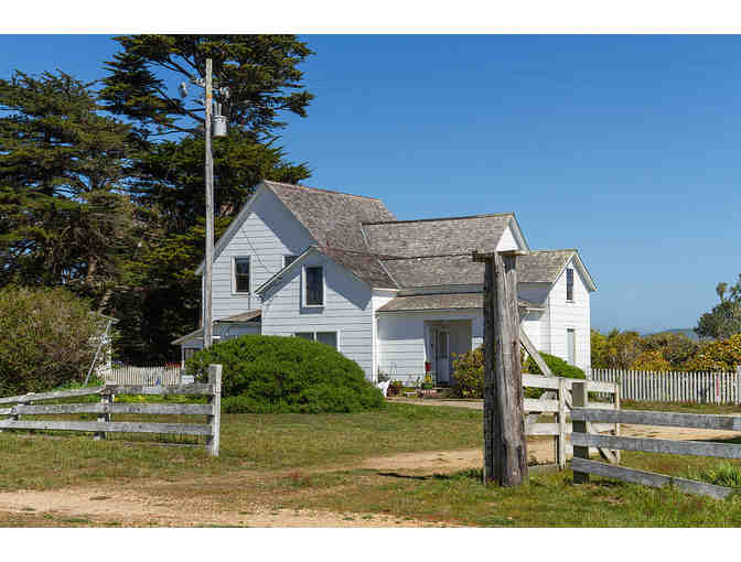 Pierce Ranch Preservation Tour and Two Nights at the Point Reyes Lifeboat Station for 12
