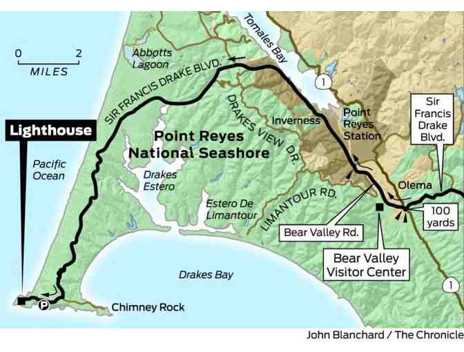 Point Reyes in Winter for 8: Marine Mammals and Maritime History with Carlo Arreglo