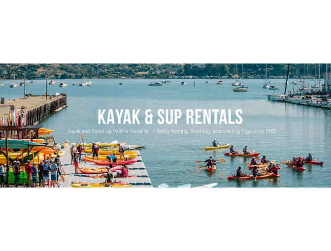 A Sausalito Houseboat for a Week and a Sea Trek Kayak & Paddleboard Adventure for Two!