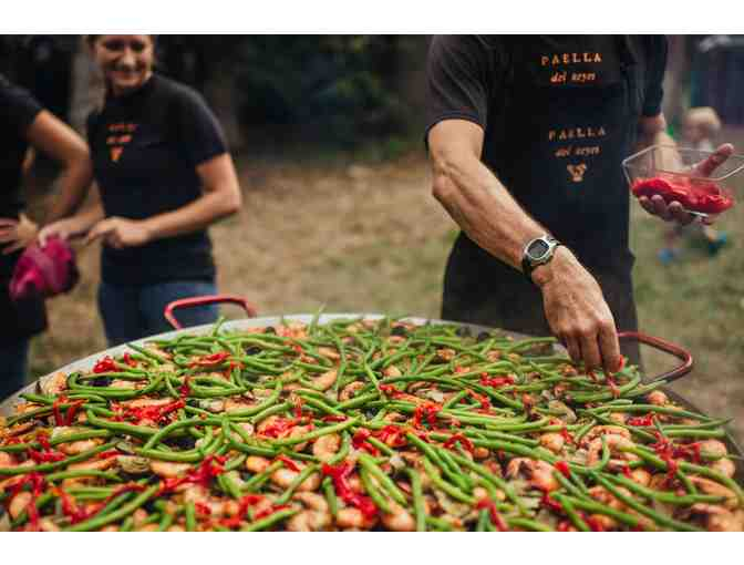 Rustic Retreat with Paella Dinner for 25, Naturalist-led Hike, and Campfire Program