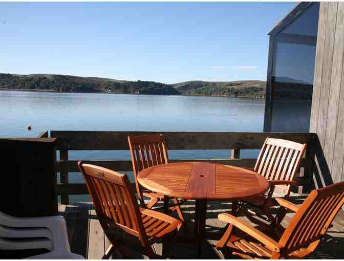 2 Nights at The Poet's Loft on Tomales Bay in Marshall for 4 & a Bottle of Mendelson Wine