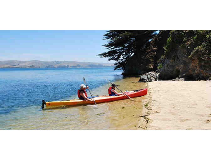 2 Nights at Tomales Bay Resort and Marina & a Blue Waters Kayaking Paddle Adventure for 2