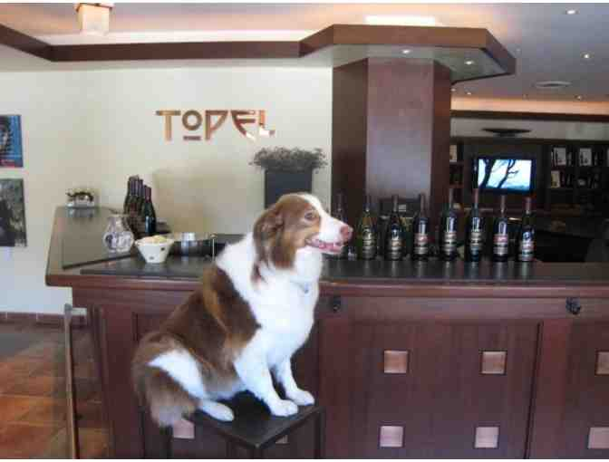 A Topel Vineyards Private Barrel Tour and Tasting with 5-Course Dinner for 12