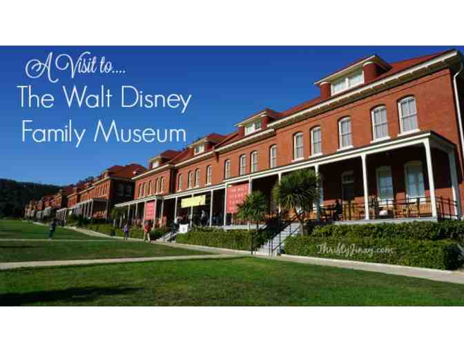 The Walt Disney Family Museum Tickets for 4