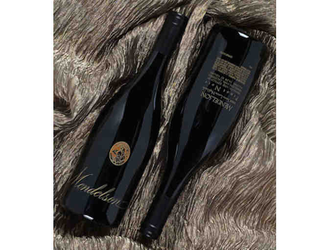 Two Bottles of Mendelson's 2000 Napa Valley Pinot Gris Dessert Wine