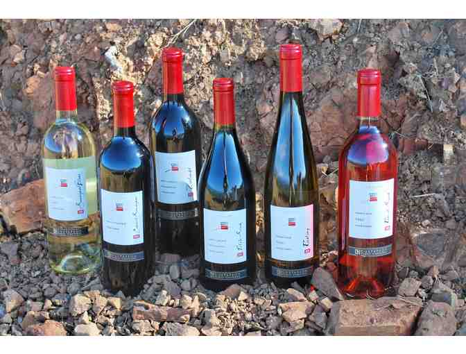 Wine from D.H. Gustafson Family Vineyards at Lake Sonoma