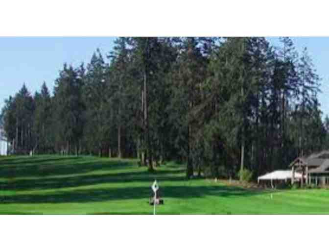 Golf with George Edman at the Fircrest Golf Club