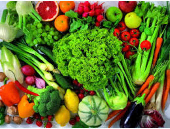 'Harvest Basket - Fresh Fruits and Vegetables during the 2018 growing season! '