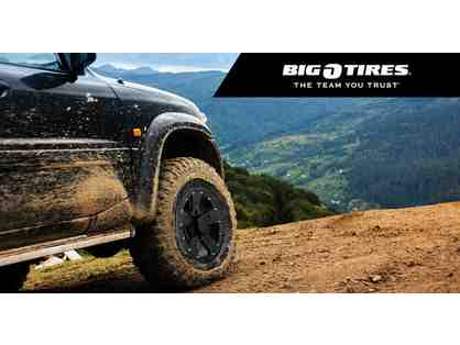 Big O Tires $100.00 Gift Card - Plainfield, Mooresville and  86th Street locations