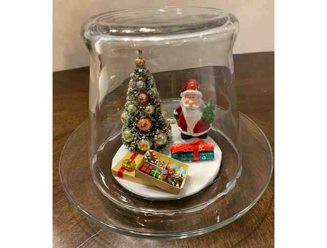 Glass Tabletop Decoration - Christmas - Photo 1