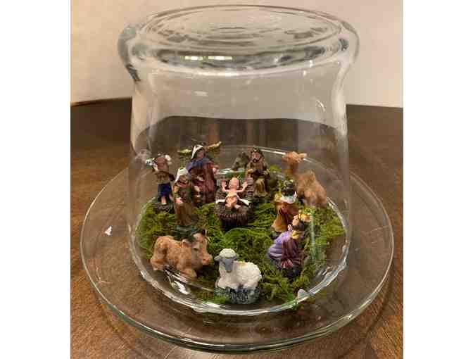 Glass Tabletop  Decoration - Manger - Photo 1