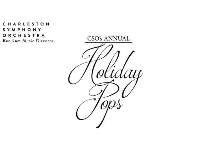 Charleston Symphony Holiday Pops