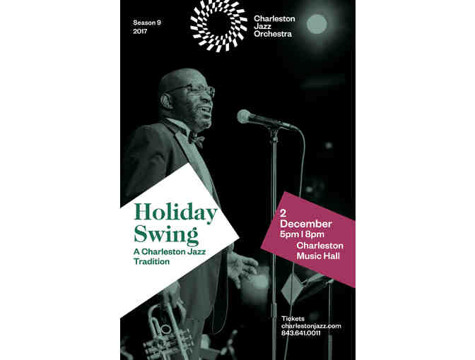 Charleston Jazz Orchestra Holiday Swing Concert