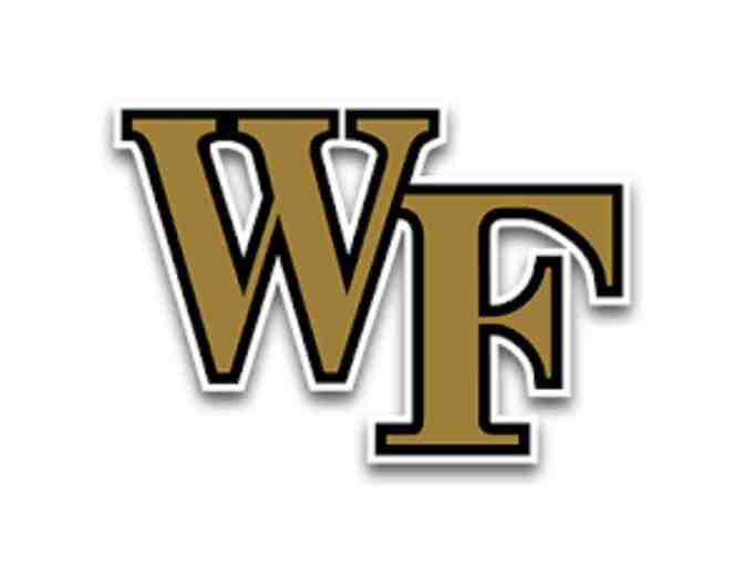 Duke at Wake Forest NCAA Men's BB 3 Tickets Courtside