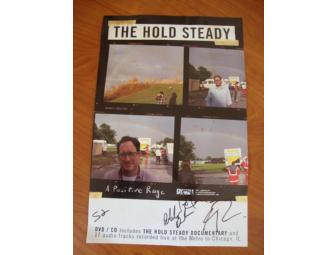 The Hold Steady AUTOGRAPHED Poster