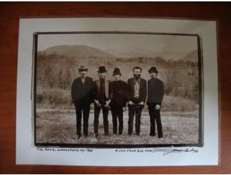 THE BAND Signed Lithograph - Music From Big Pink