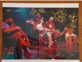 Bela Fleck & The Flecktones- Autographed Photo