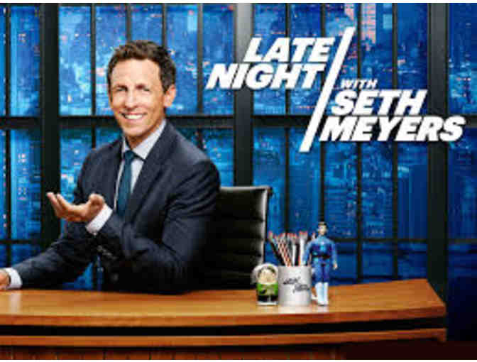 2 VIP Tickets to Late Night with Seth Meyers