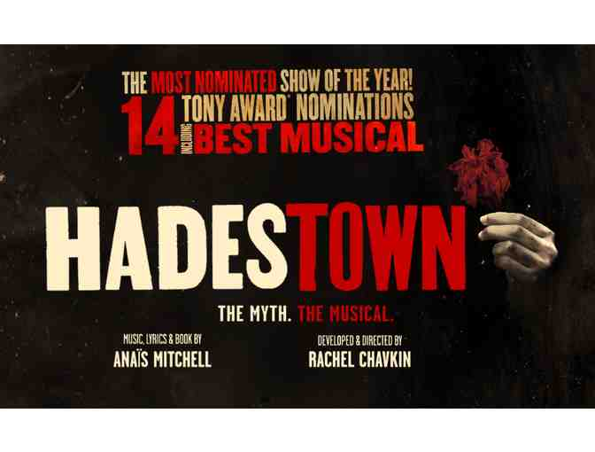 2 Center Orchestra Tickets to Hadestown 7/17/19