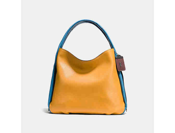 Coach Bandit Hobo in Colorblock Leather
