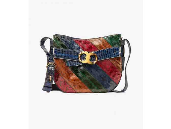 Tory Burch Gemini Link Snake Cross-Body Multi