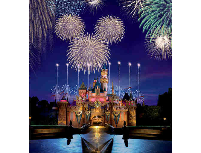 (4) FOUR 1-Day Hopper Tickets to Disneyland & Disney California Adventure Parks