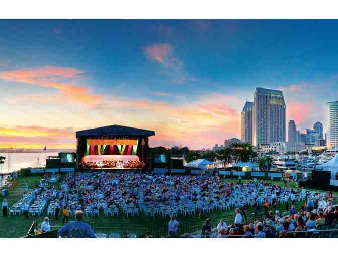 (2) tickets to San Diego Symphony 2019 Bayside Summer Nights