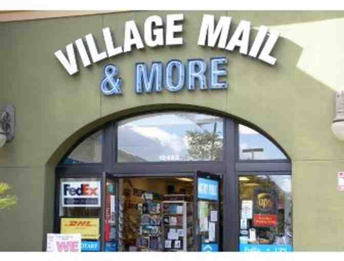 $25 Certificate Village Mail and More in RB