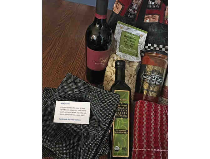 Filled Handmade Tote with Italian Feast
