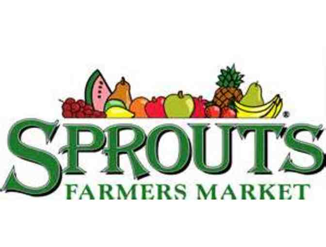 $25.00 Gift Card for Sprouts - 15727 Bernardo Hts Pkwy, 92128 - Photo 1