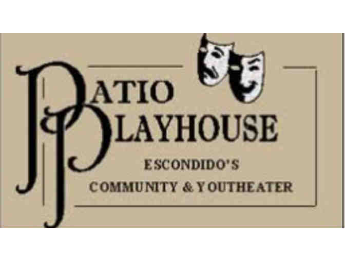 (2) admissions to a Production at Patio Playhouse - Photo 1