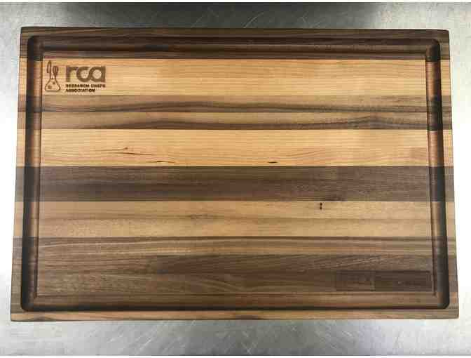 NOLA BOARDS Custom RCA-logo Cutting Board