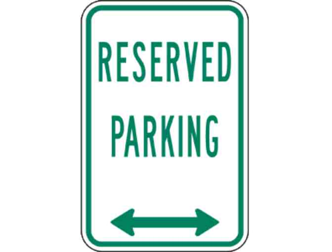 Reserved Front Circle Parking Spot for Panther Day! (9/28/2018)