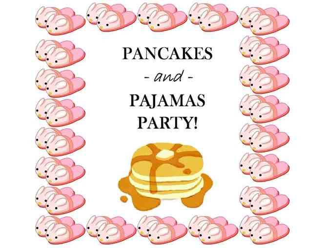 Pajamas and Pancake Party for 2nd Grade girls