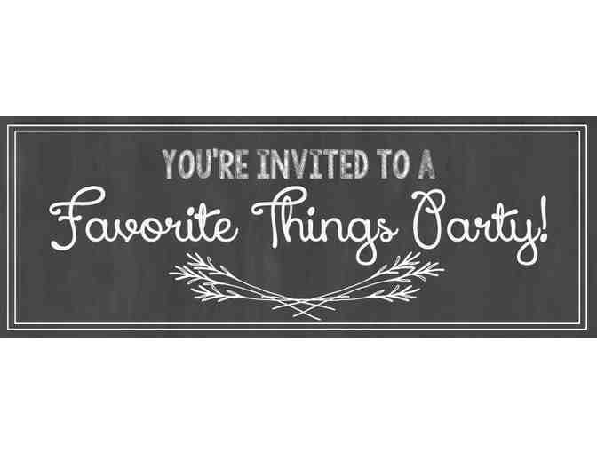 'Favorite Things Party' Pre-Holiday (December 2018)