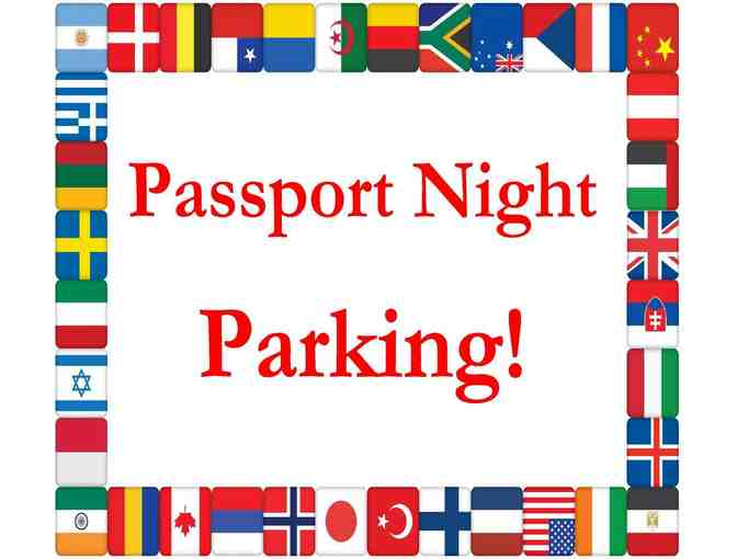 Reserved Host Table & Reserved Front Circle Parking Spot for Passport Night! (11/8/2019)