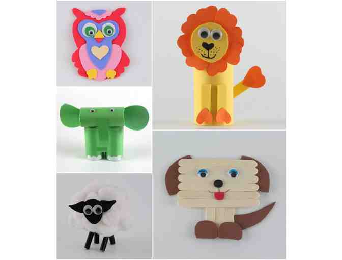 Wild about Animals Craft Party with Mrs. Gray (Grades 2,3 and 4)